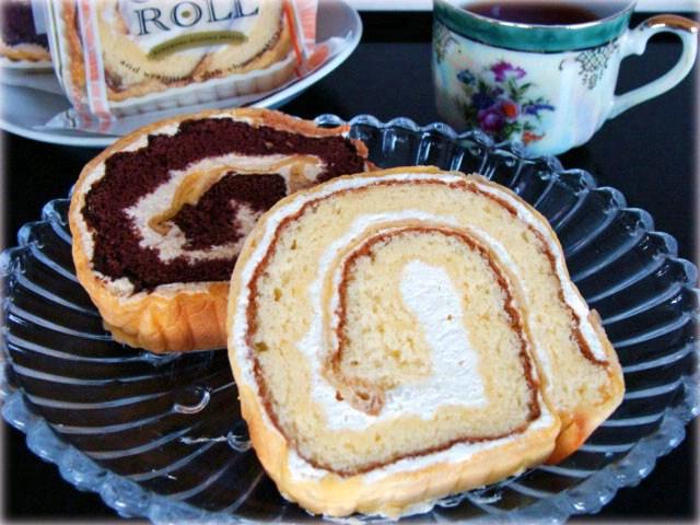 極上バタークリームのロールケーキ!シューロール